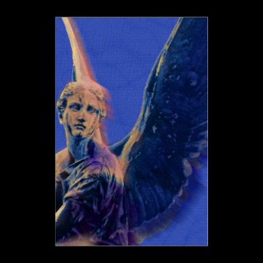 Angel in Blue and Gold - Poster 8x12