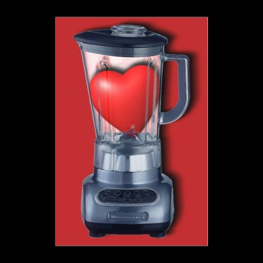 Heart Series Love Blenders - Poster 8x12