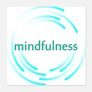 Bliss mindfulness - Poster