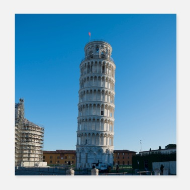 Leaning Tower Pisa Tower of Pisa - Poster