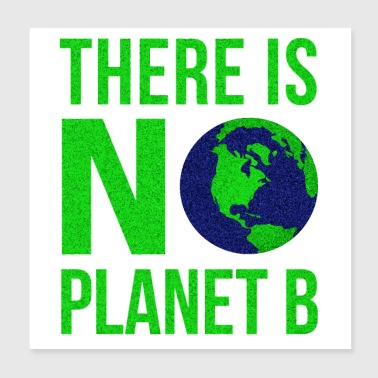 There Is No Planet B - Poster 8x8