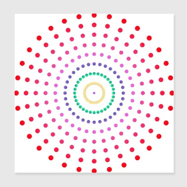 circle two - Poster 8x8