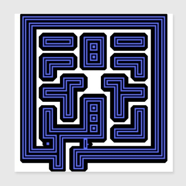 This Is Your Maze - Poster 8x8