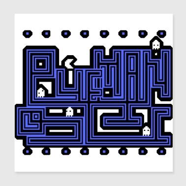 Shop Computer Game Wall Art online   Spreadshirt