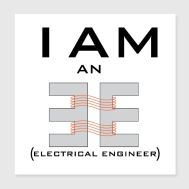 ELECTRICAL ENGINEERx - Poster 8x8