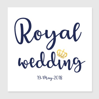 Royal Wedding - Poster 8x8