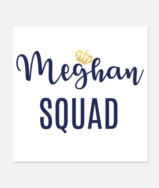 British Posters - Meghan Squad - Posters white