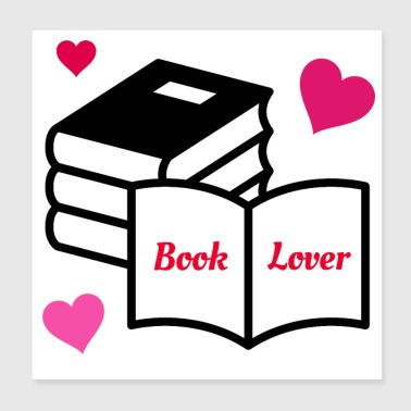 Book Lover - Poster 8x8