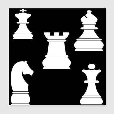 chess 2 - Poster 8x8