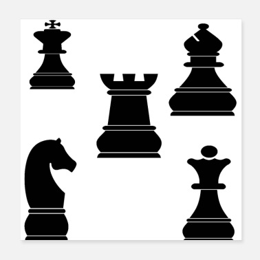 Game chess - Poster