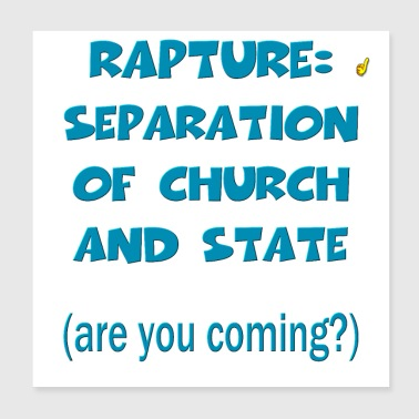 Rapture: Separation of Church and State - Poster 8x8