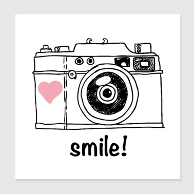 smile for the camera - Poster 8x8