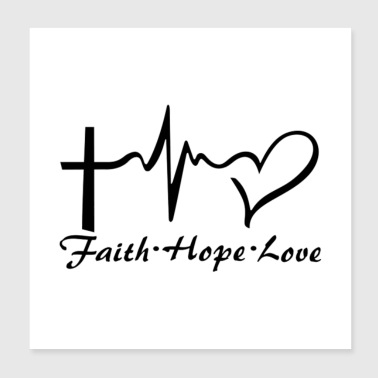 hope love - Poster 8x8