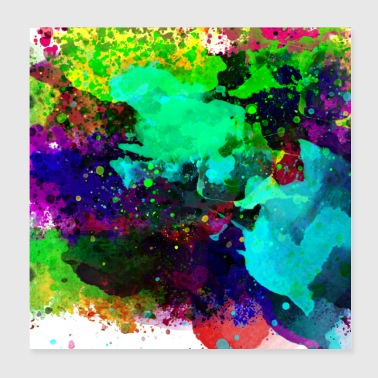 Colorful 1 - Poster 8x8