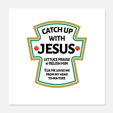 Bible catch up with Jesus,Christian Bible - Poster