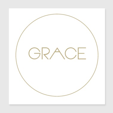 Grace Christian Bible - Poster 8x8