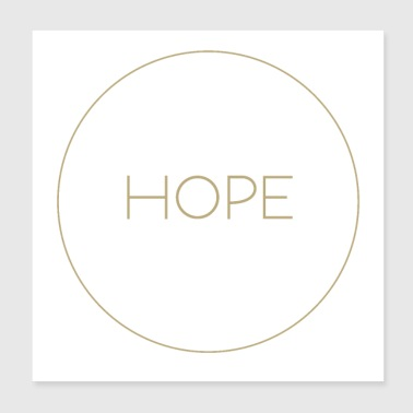hope Christian Bible - Poster 8x8