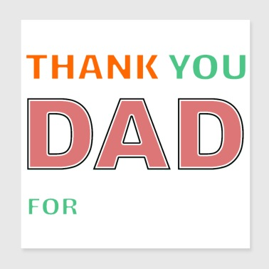 Father's Day - Poster 8x8