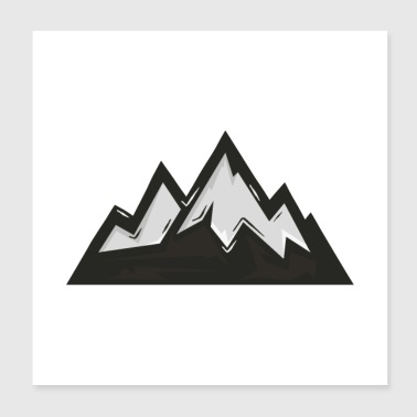 Mountains - Poster 8x8