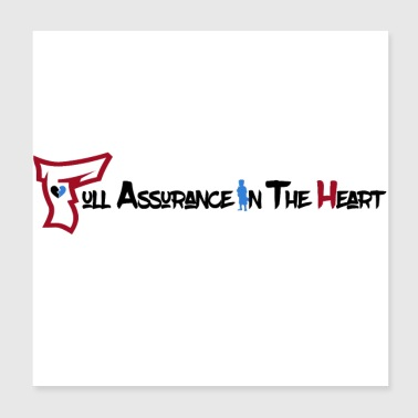 Full Assurance In The Heart Text - Poster 8x8