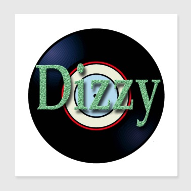 Oldies Hit Song Titles Dizzy Tommy Roe - Poster 8x8