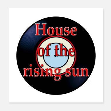 Hits Oldies Hit Song Titles House of the Rising Sun - Poster
