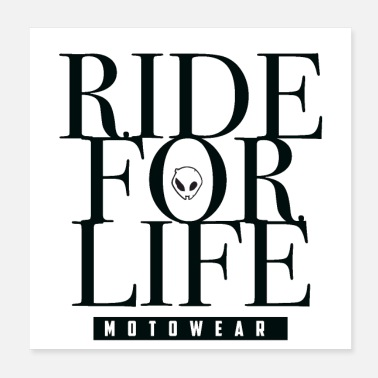 Racing Machine Ride For Life 3 - Poster