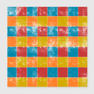 squares - Poster 8x8
