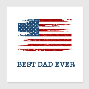 Best dad ever - Poster 8x8
