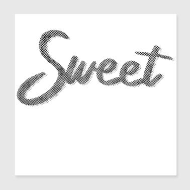 SWEET Dots - Poster 8x8