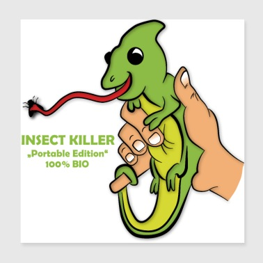 Insect Killer - Poster 8x8