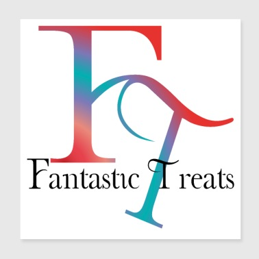 Fantastic Treats Drinks-Snacks-Candies-Fruit - Poster 8x8