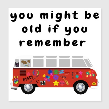 Funny Baby Boomer Quotes About Getting Old - Poster 8x8
