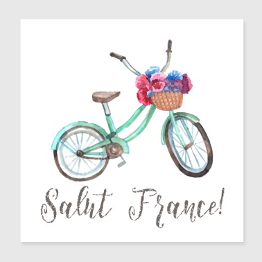 SALUT FRANCE - Poster 8x8