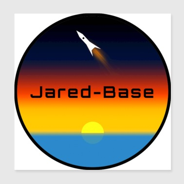 Jared-Base Circle Logo - Poster 8x8