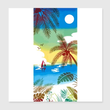 Sea Beaches - Poster 8x8