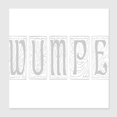 Fantasy words - Wumpe - Poster 8x8
