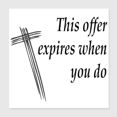 Cool Christian Philosophy For Your Faith - Poster 8x8