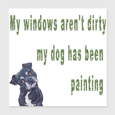Dog Sayings My Has Been Painting Funny Pets