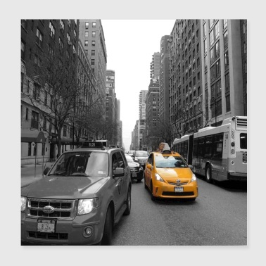 taxi - Poster 8x8