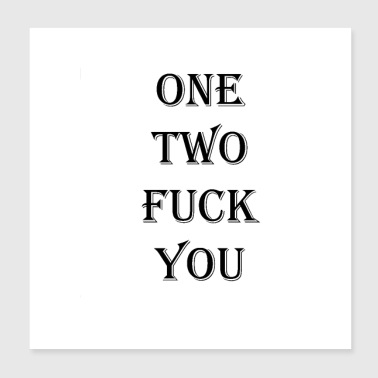 One two - Poster 8x8