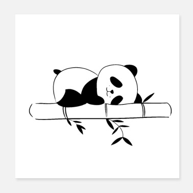Sleeping Panda sleep - Poster