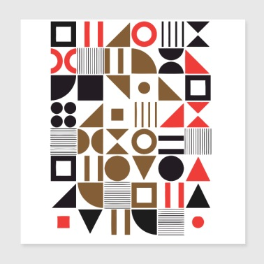 Abstract Design - Poster 8x8