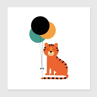 Tiger Baby - Poster 8x8