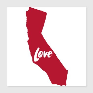 California Love - Poster 8x8