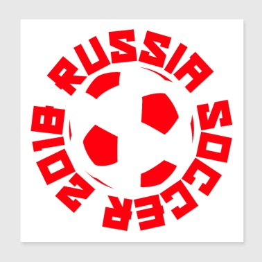 Russia Soccer 2018 - Poster 8x8
