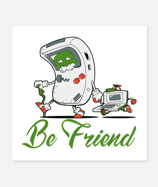 Bless You Posters - Be a friend good Friend - Posters white