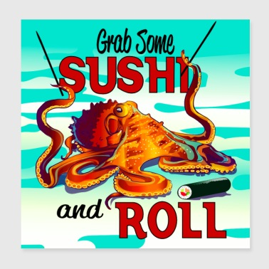 SushiRoll - Poster 8x8