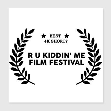 Film Festival Winner : Best 4K Short - Poster 8x8