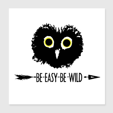 Be Owl - Poster 8x8